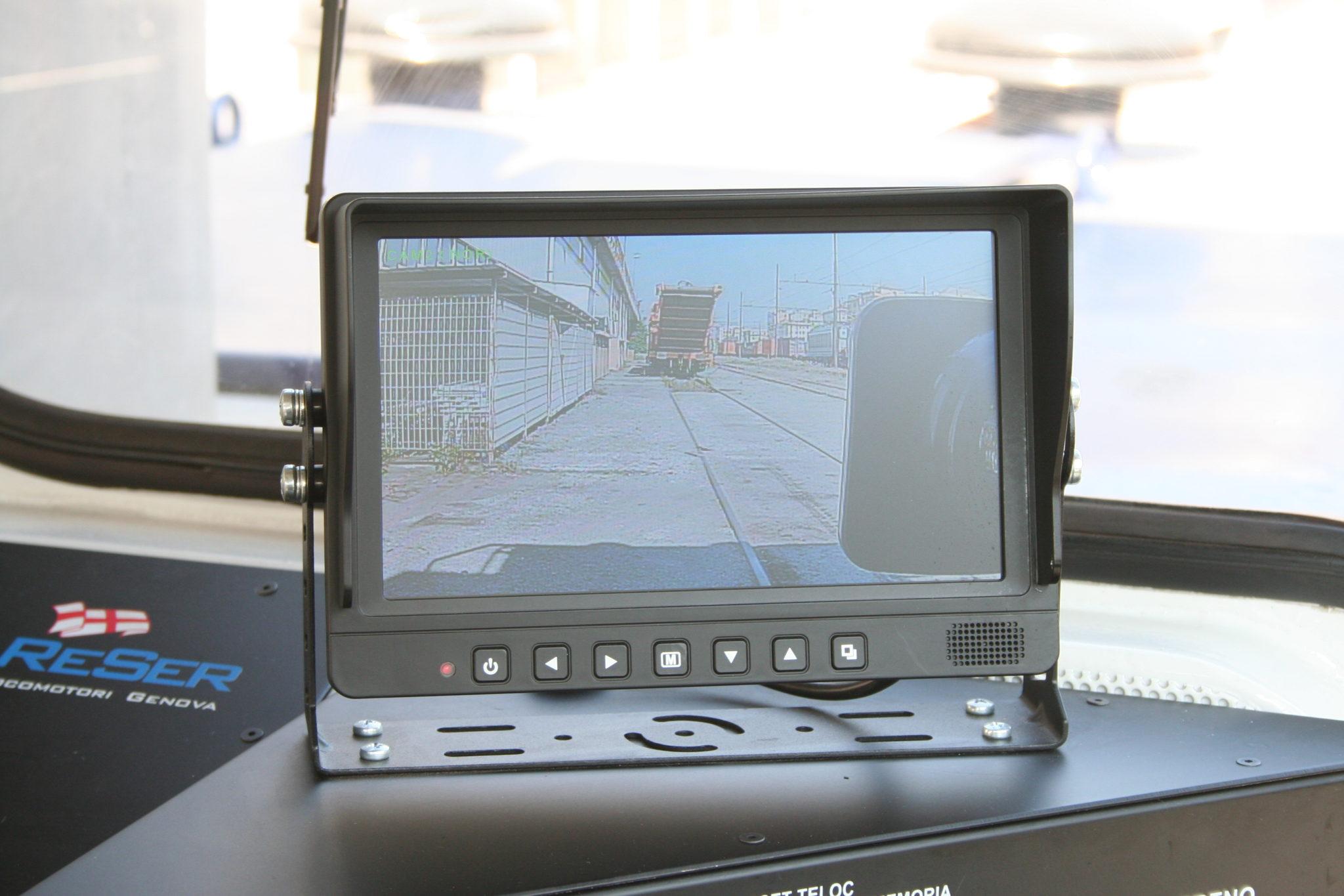 Monitor LCD a colori per visualizzazioni coni d'ombra